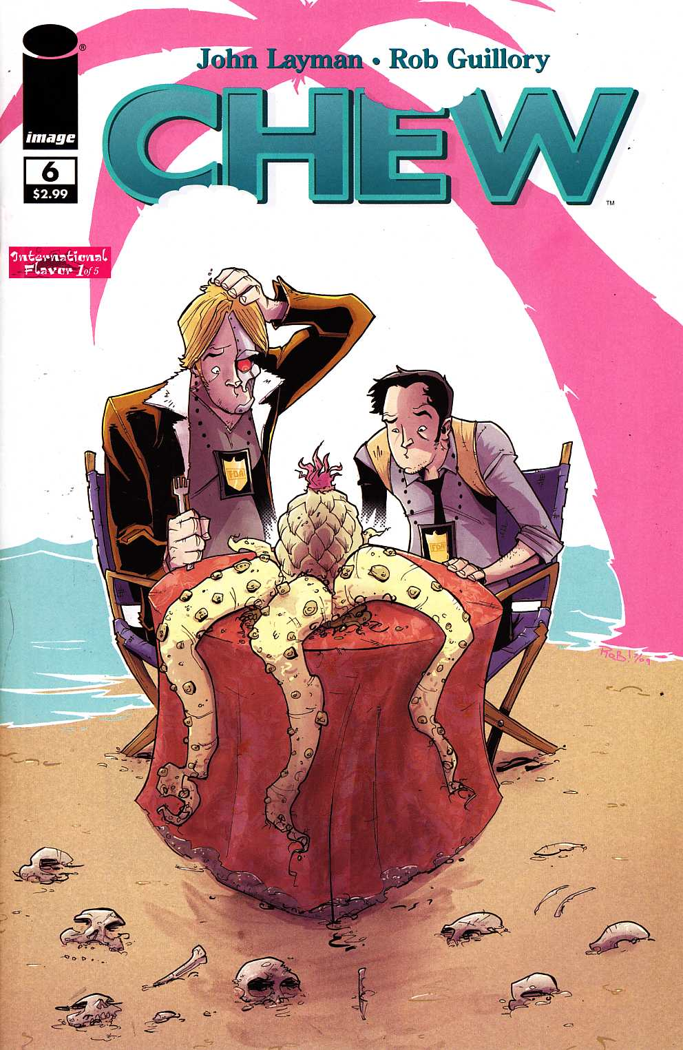 Chew #6 [Image Comic]