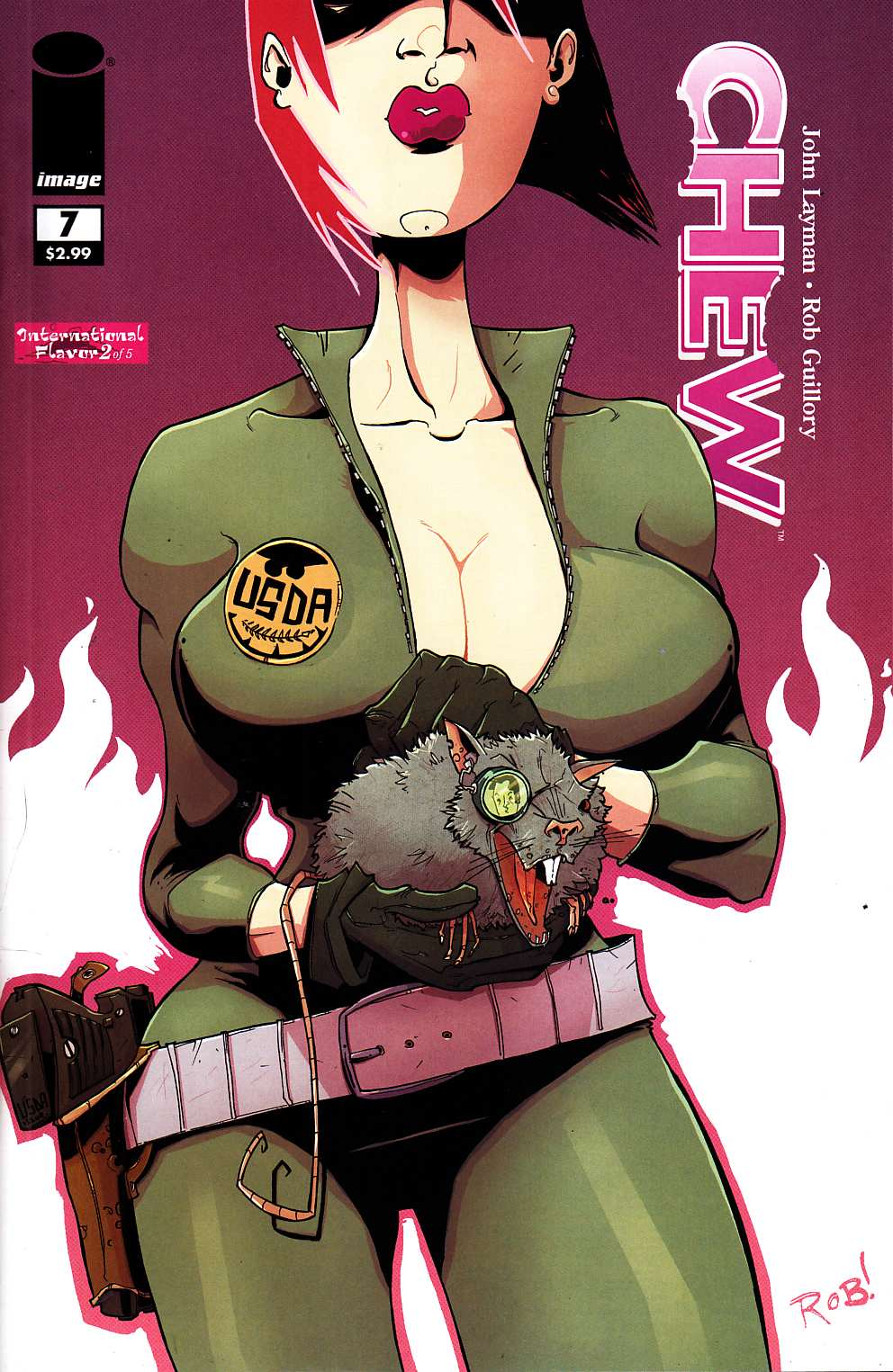 Chew #7 [Image Comic]