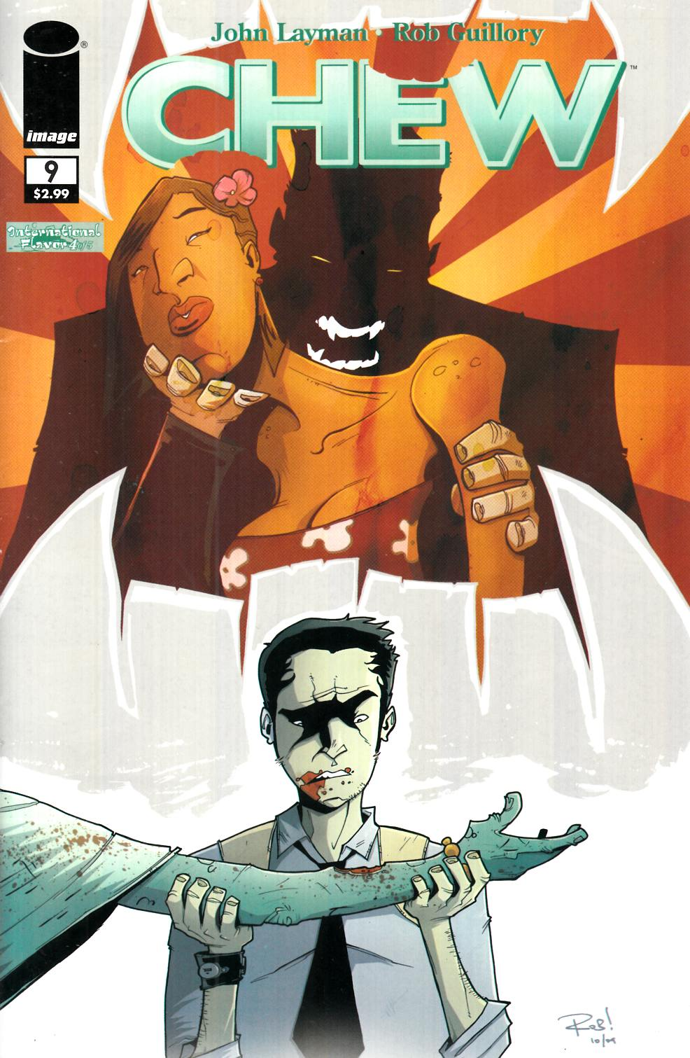 Chew #9 [Image Comic]