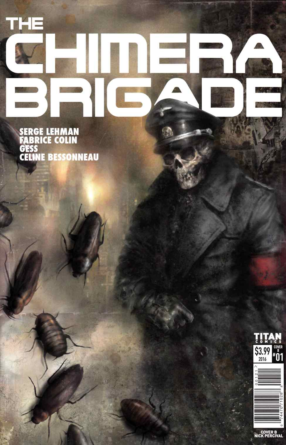 Chimera Brigade #1 Cover B [Titan Comic] LARGE