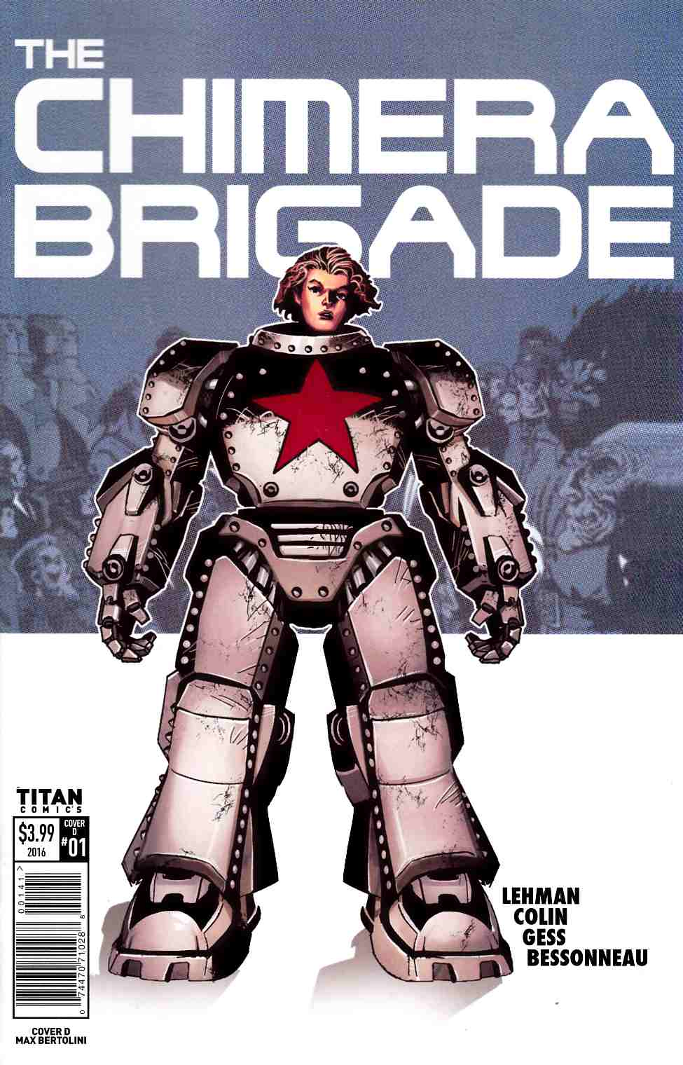 Chimera Brigade #1 Cover D [Titan Comic] LARGE