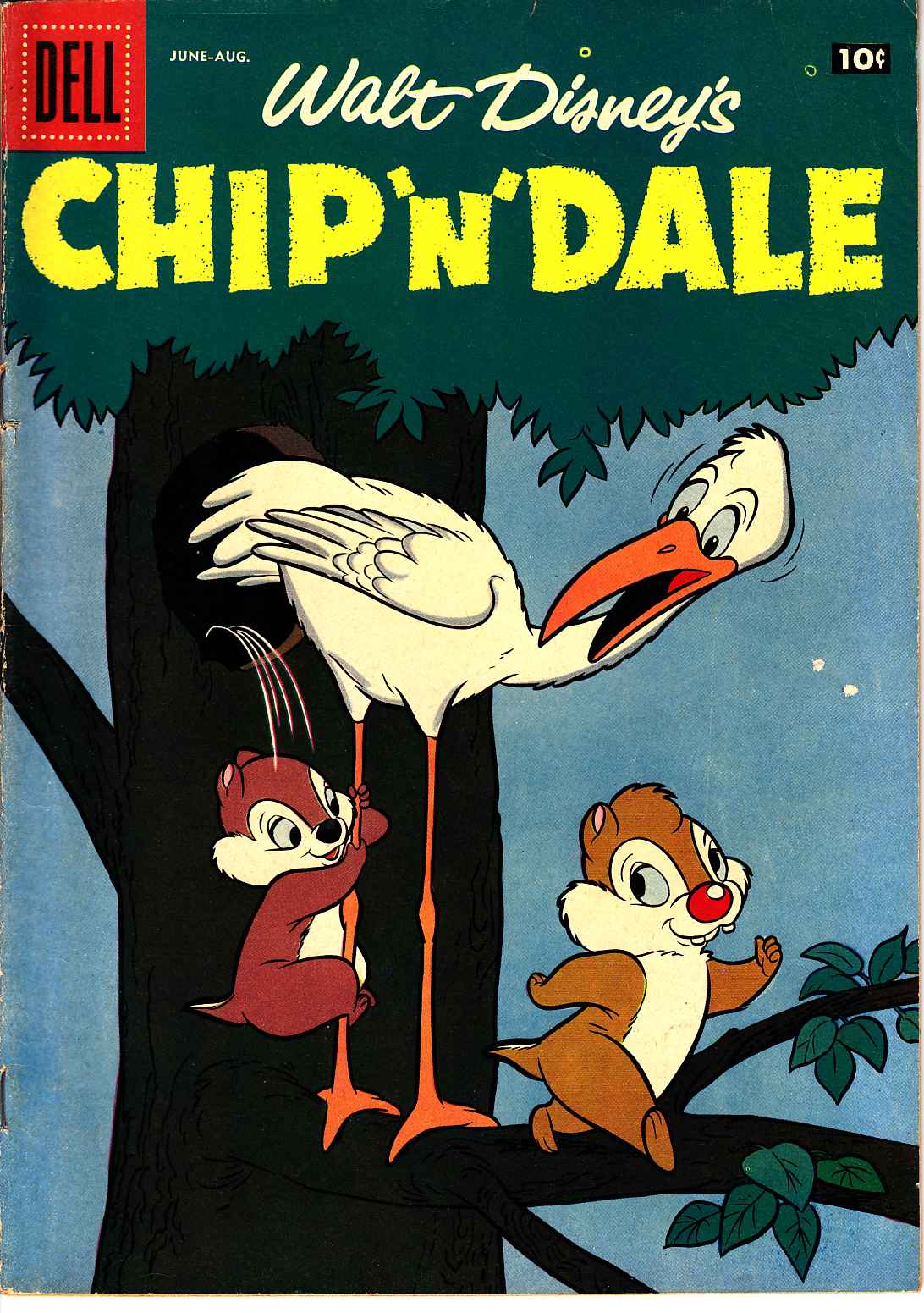 Chip N Dale #14 [Dell Comic] THUMBNAIL