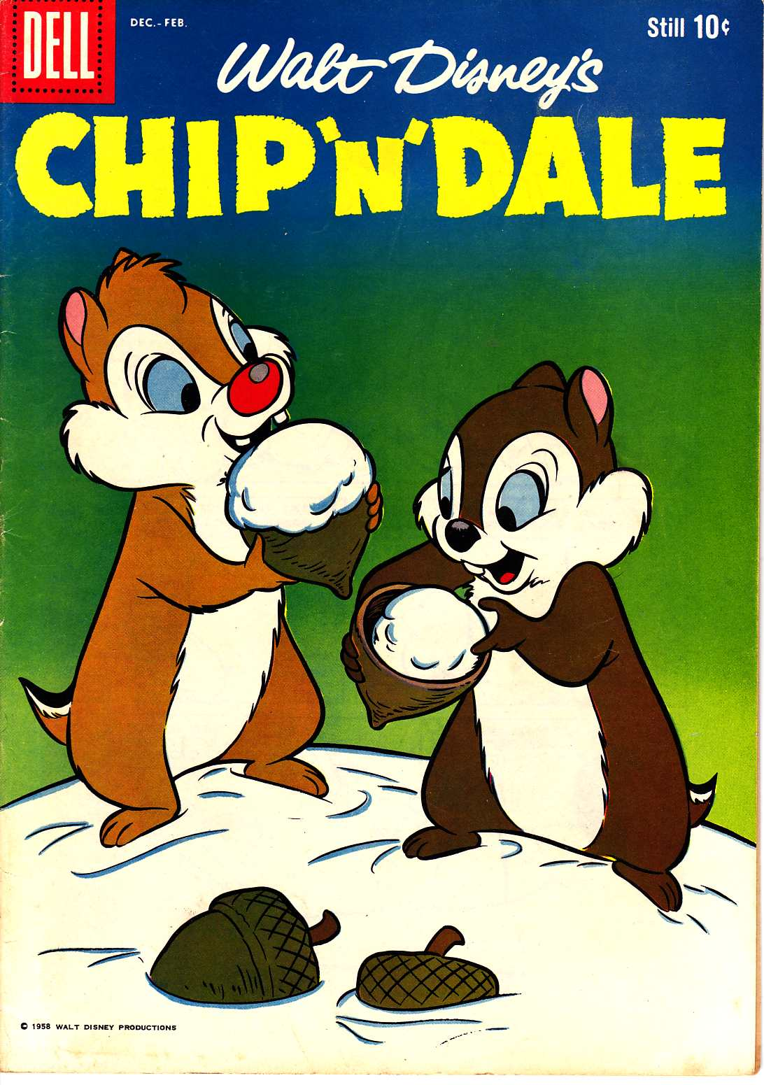 Chip N Dale #16 [Dell Comic] THUMBNAIL