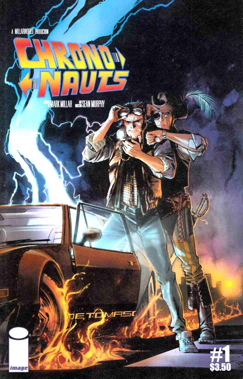 Chrononauts #1 Second Printing [Image Comic] LARGE