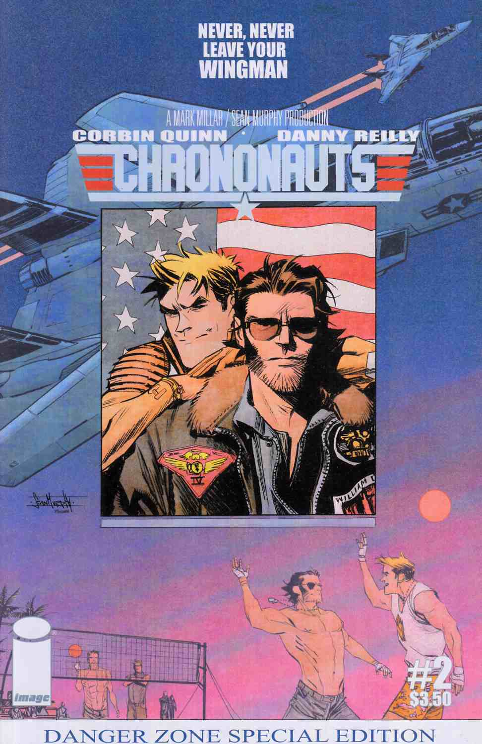 Chrononauts #2 Cover B [Image Comic] THUMBNAIL