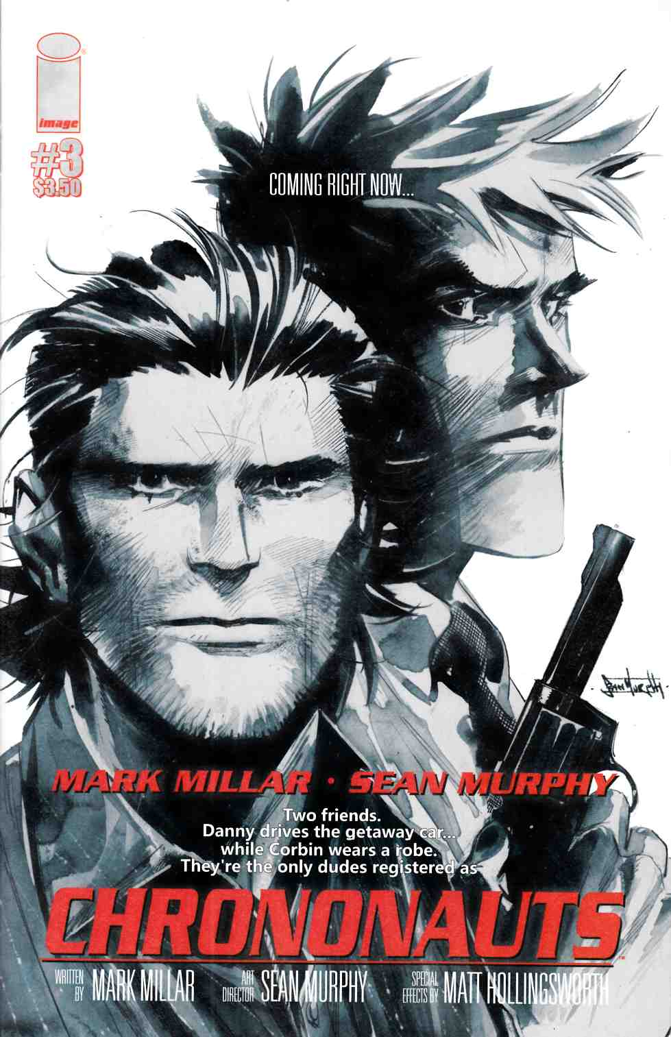 Chrononauts #3 Cover B [Image Comic] THUMBNAIL