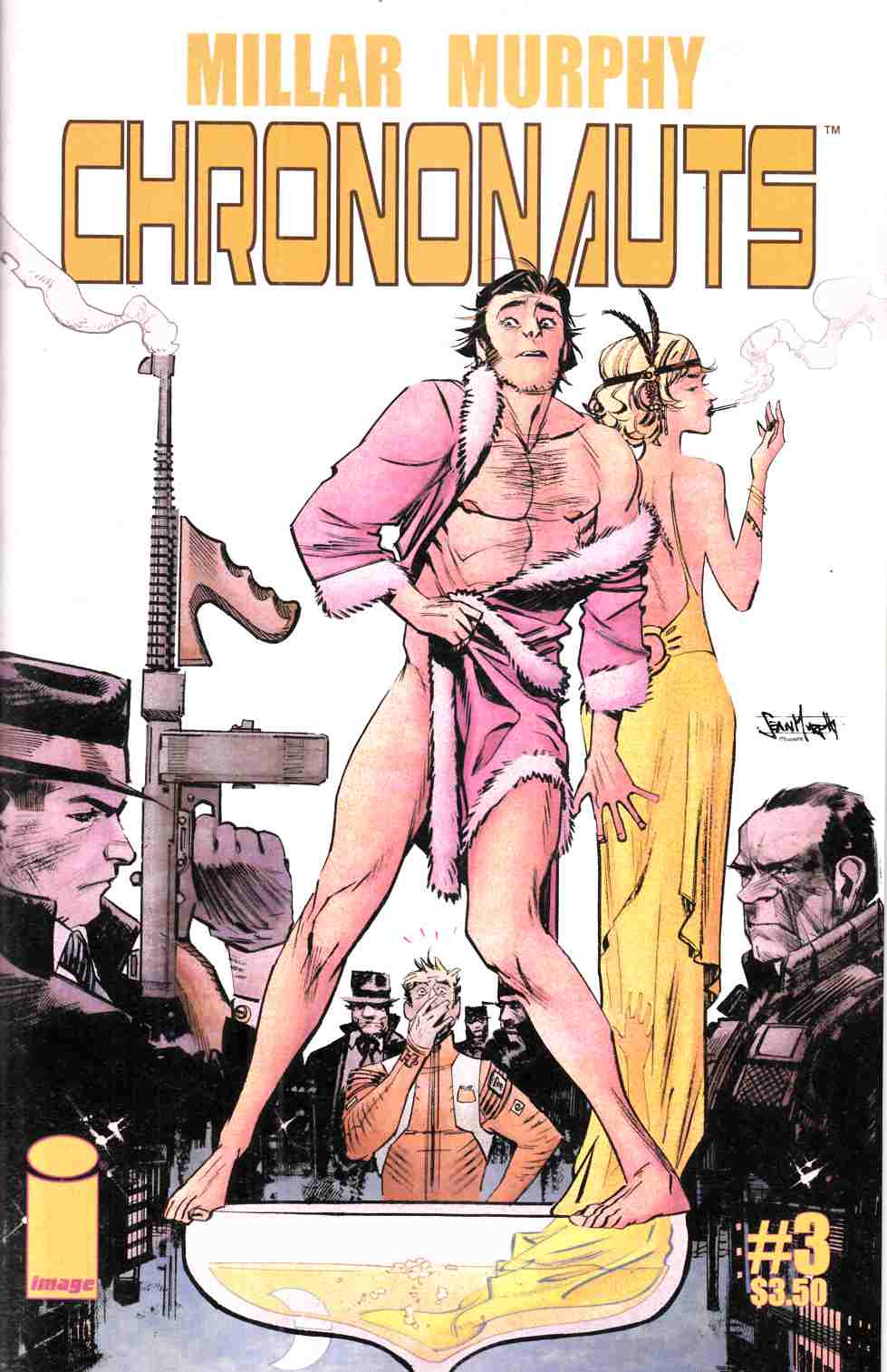 Chrononauts #3 Cover A [Image Comic] THUMBNAIL