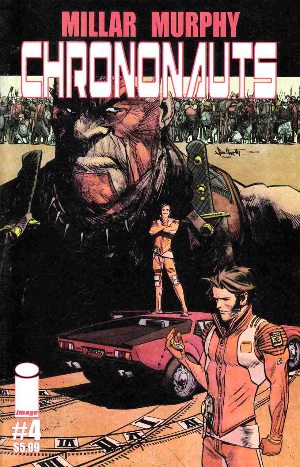 Chrononauts #4 Cover A [Image Comic] THUMBNAIL