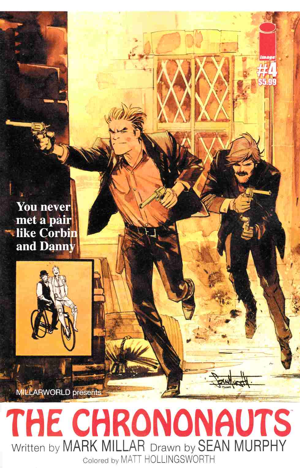 Chrononauts #4 Cover B [Image Comic] THUMBNAIL