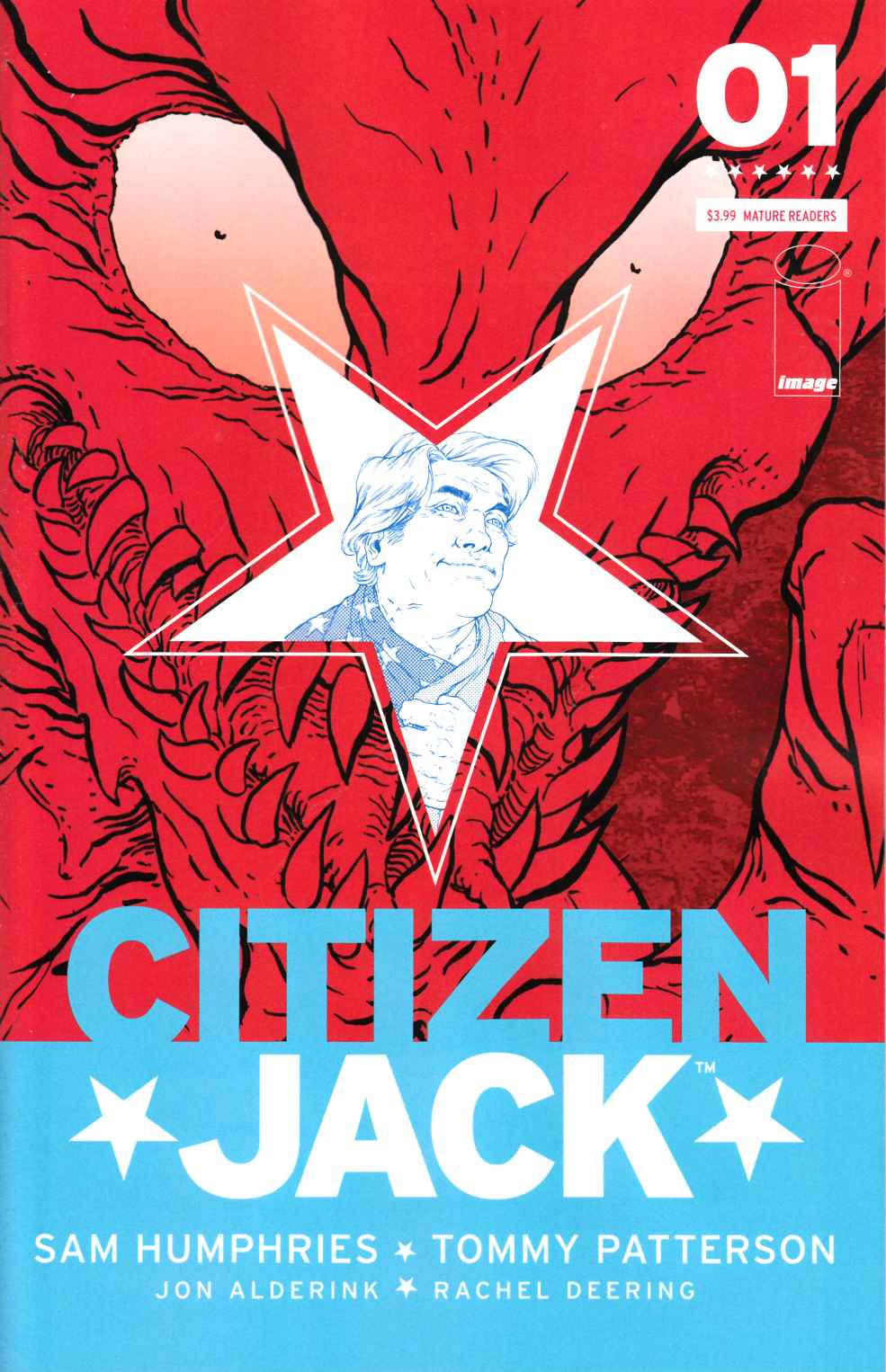 Citizen Jack #1 Cover A- Patterson [Image Comic] THUMBNAIL