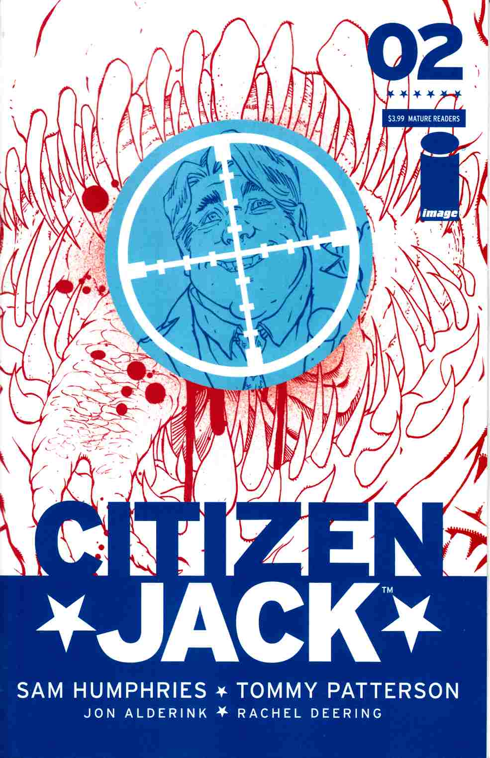 Citizen Jack #2 Cover A- Patterson [Image Comic] THUMBNAIL