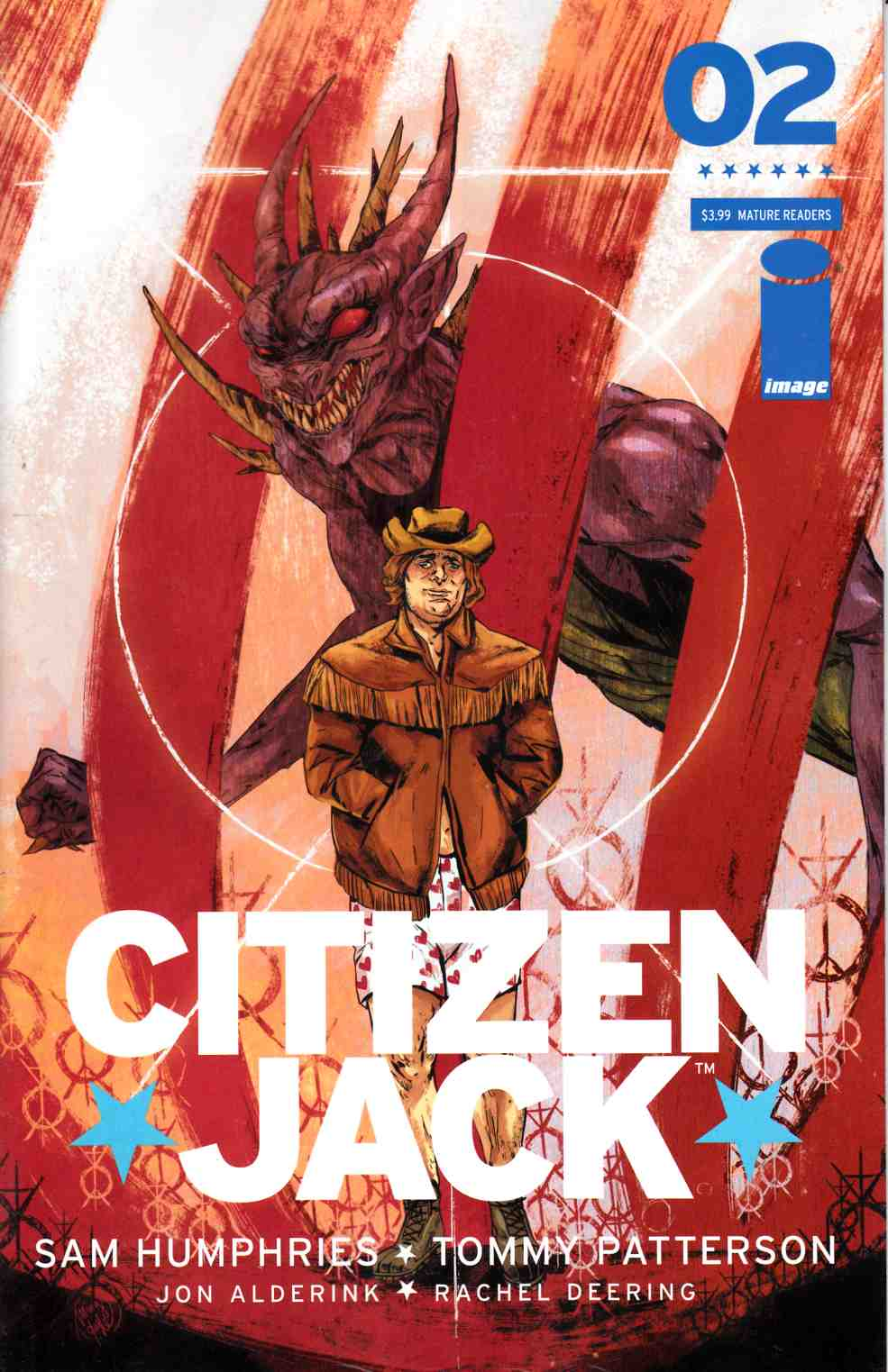 Citizen Jack #2 Cover B- Doyle [Image Comic] THUMBNAIL