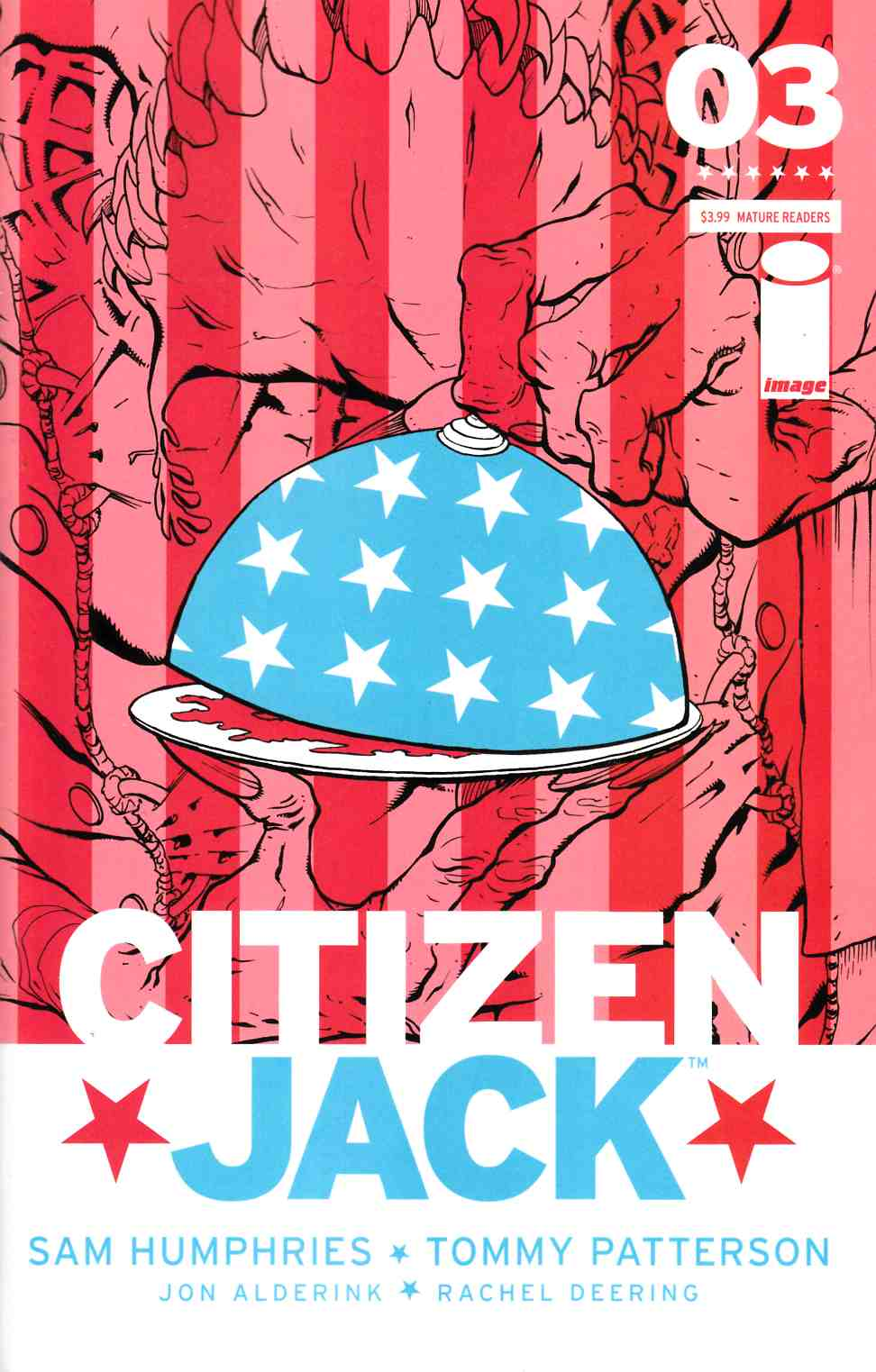 Citizen Jack #3 Cover A- Patterson & Todd [Image Comic] THUMBNAIL