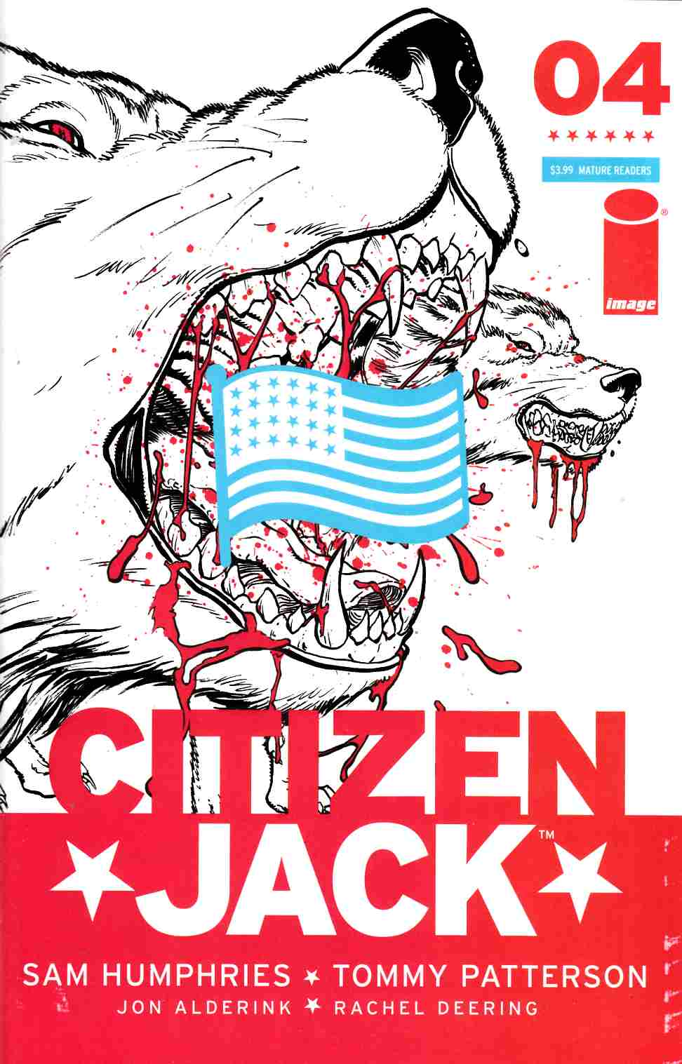 Citizen Jack #4 Cover A- Patterson & Todd [Image Comic] THUMBNAIL