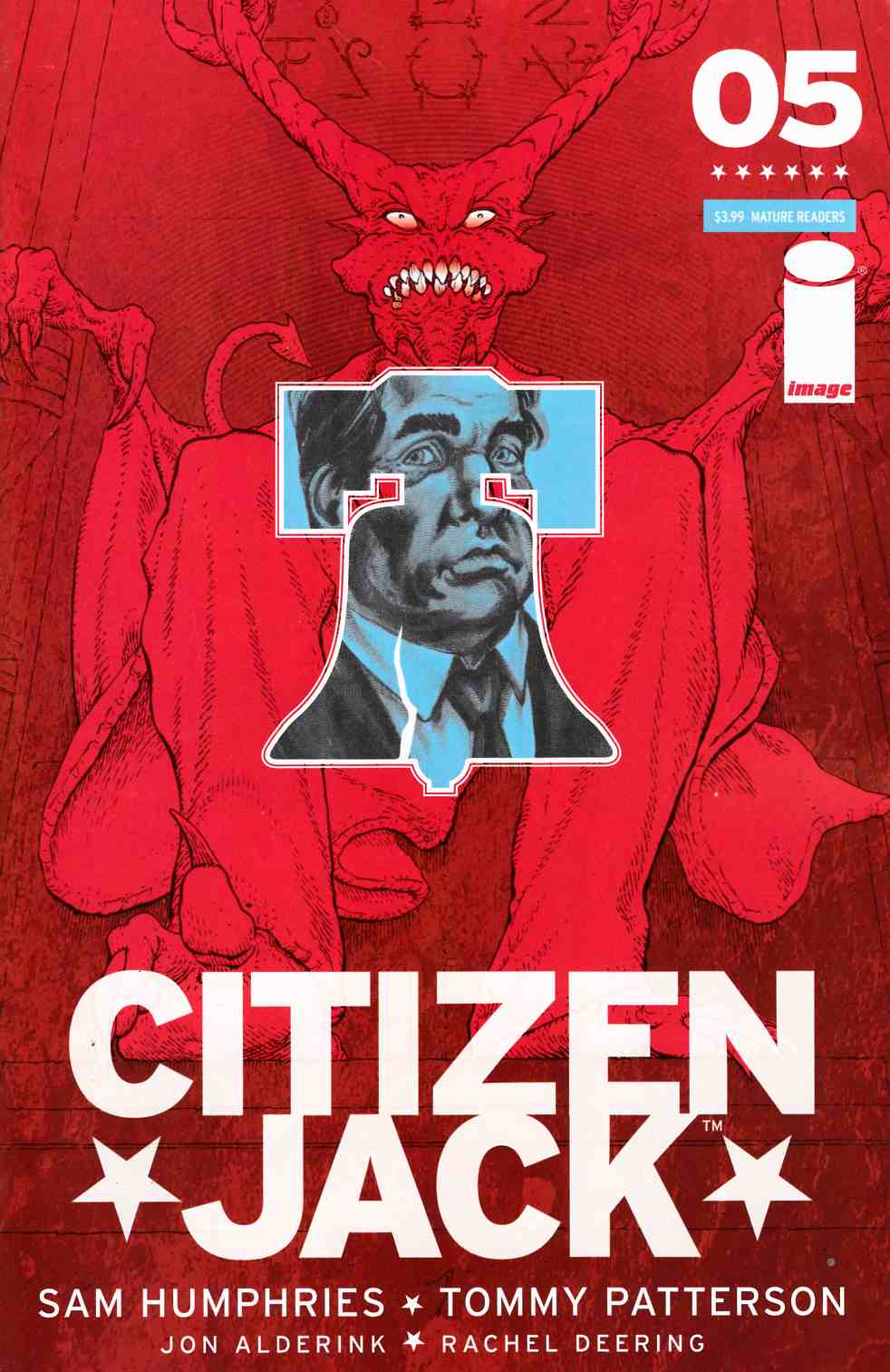 Citizen Jack #5 Cover A [Image Comic] THUMBNAIL