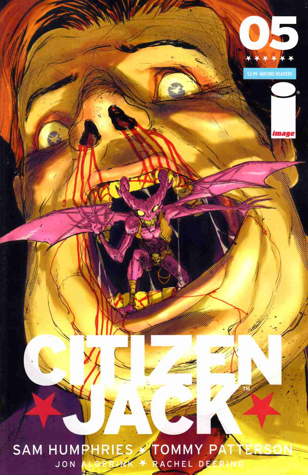 Citizen Jack #5 Cover B [Image Comic] THUMBNAIL