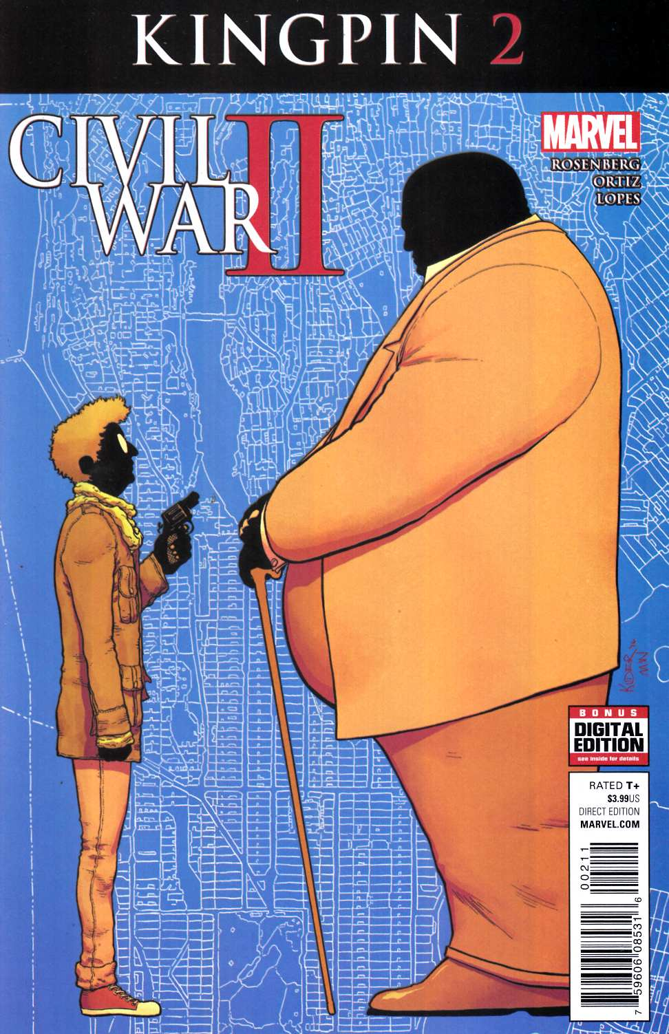 Civil War II Kingpin #2 [Marvel Comic] LARGE