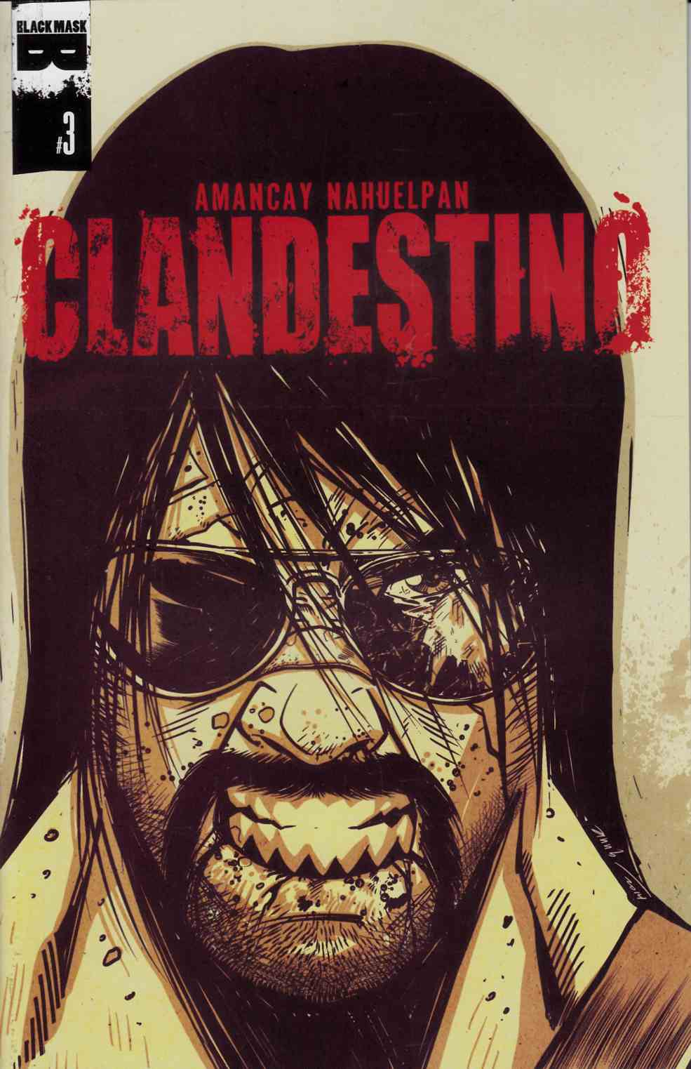 Clandestino #3 [Black Mask Comic] THUMBNAIL