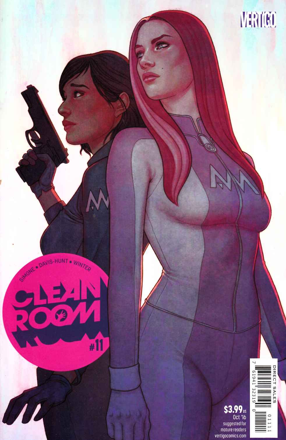Clean Room #11 [DC Comic] LARGE