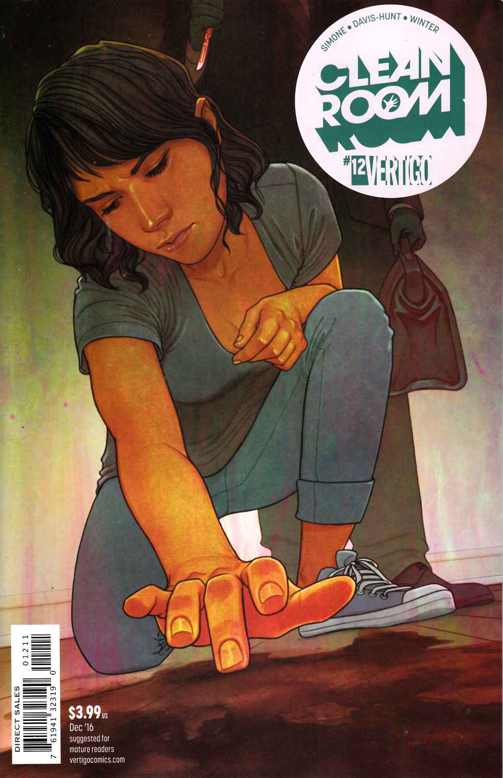 Clean Room #12 [DC Comic] LARGE