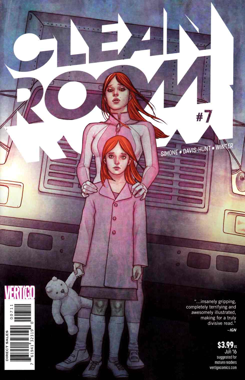 Clean Room #7 [DC Comic] LARGE