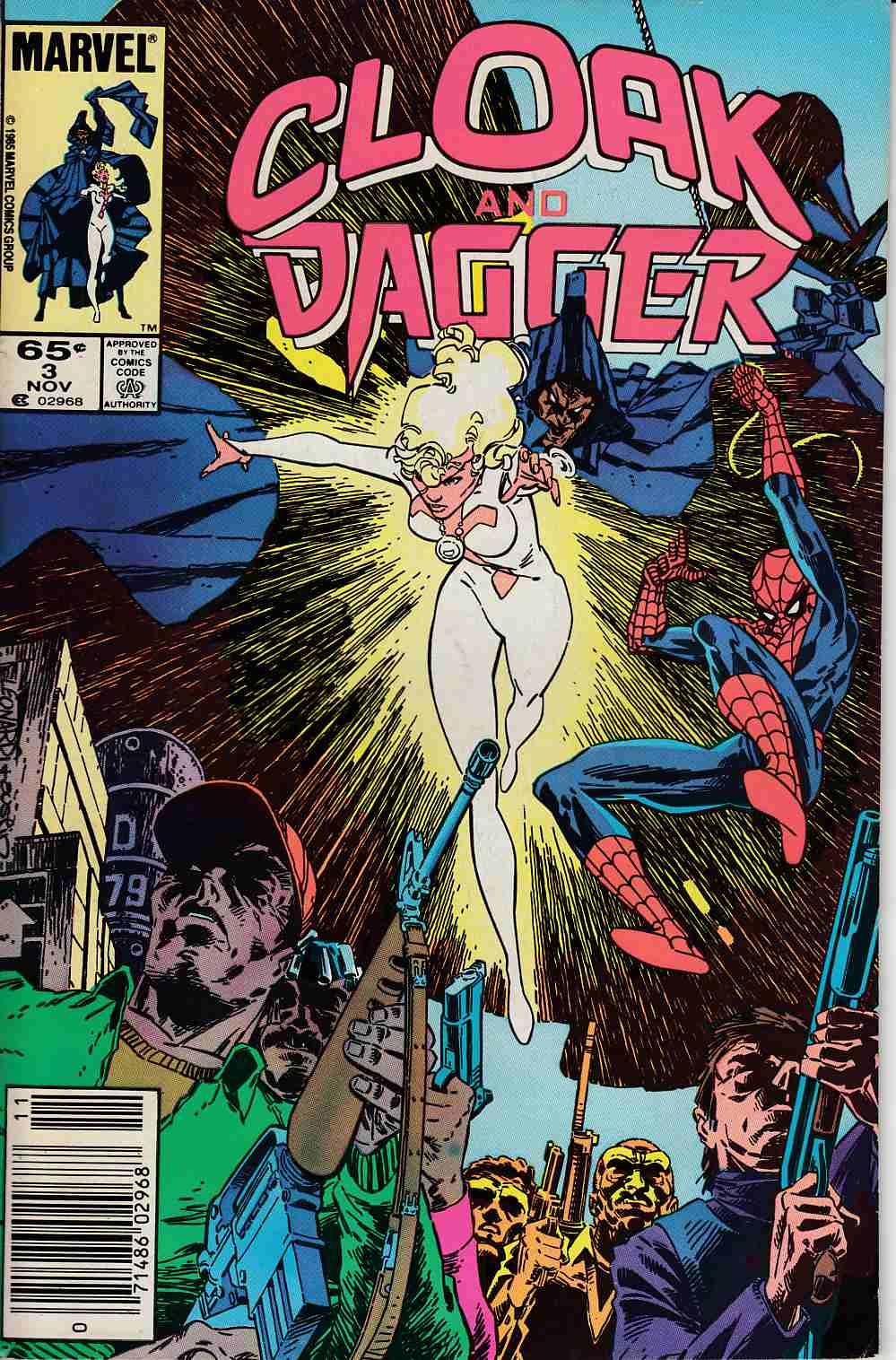 Cloak and Dagger #3 Newsstand Edition Very Fine (8.0) [Marvel Comic] LARGE