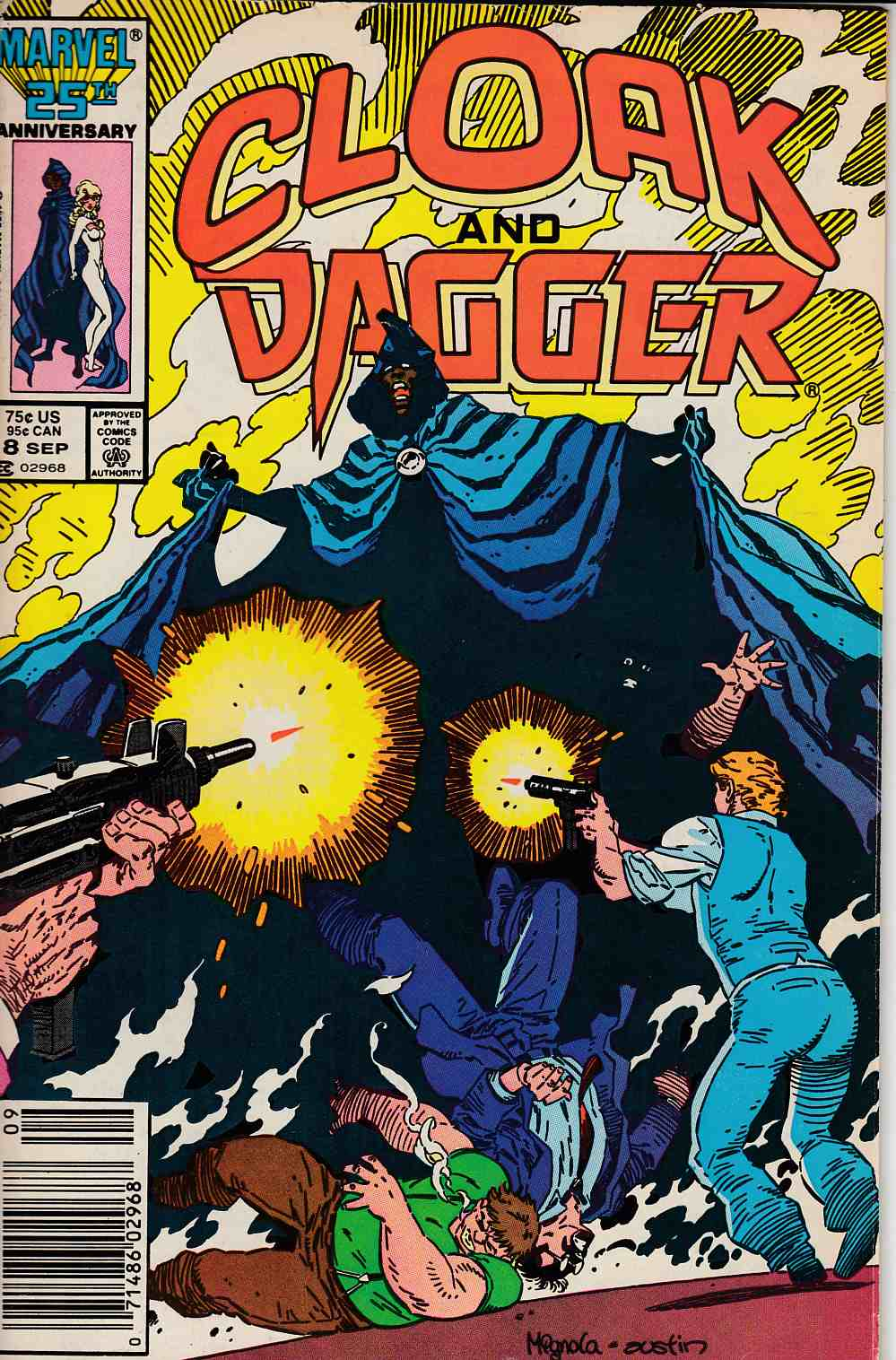 Cloak and Dagger #8 Newsstand Edition Fine (6.0) [Marvel Comic] LARGE
