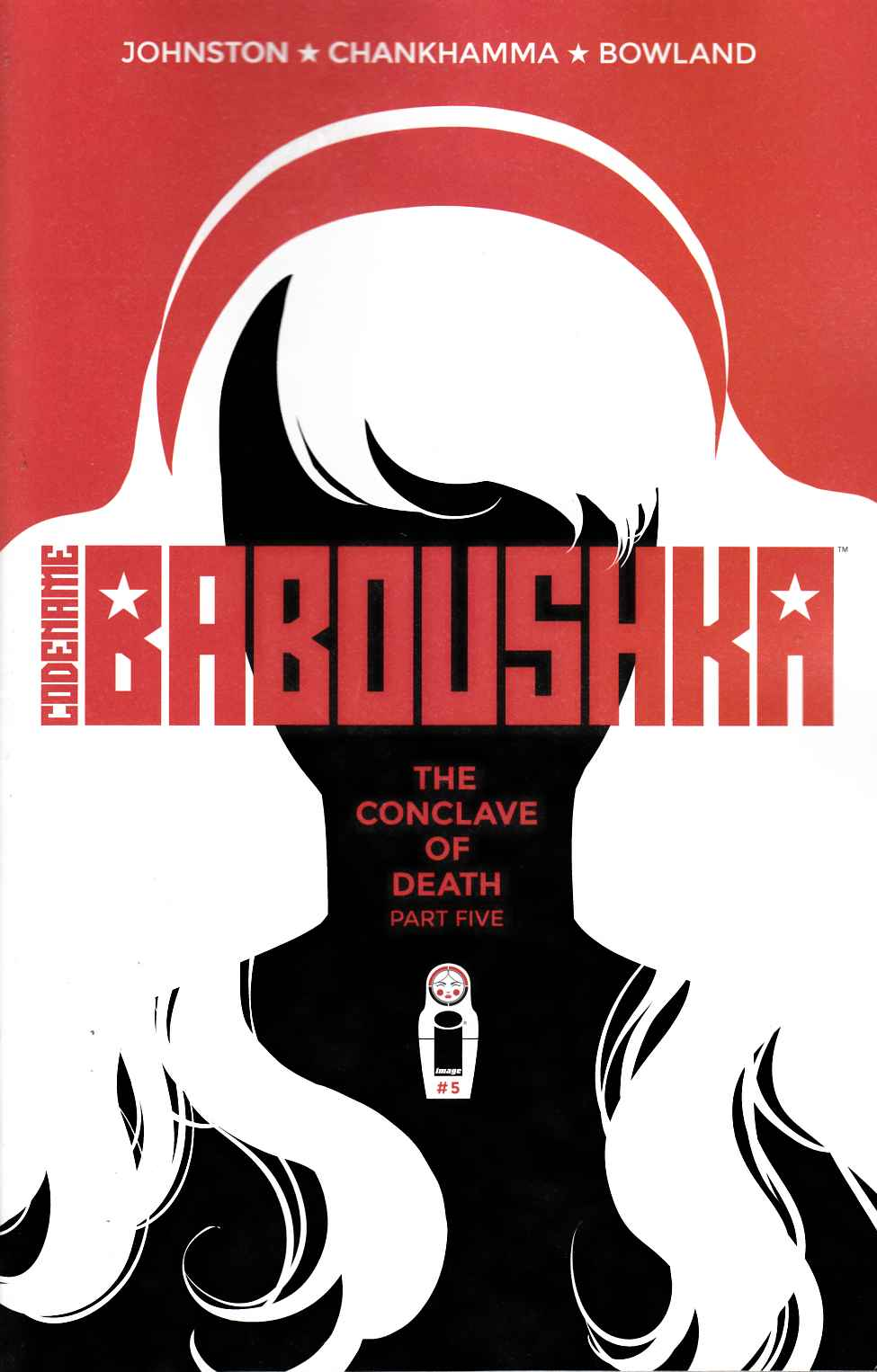 Codename Baboushka: Conclave of Death #5 Cover A- Chankhamma [Image Comic] THUMBNAIL