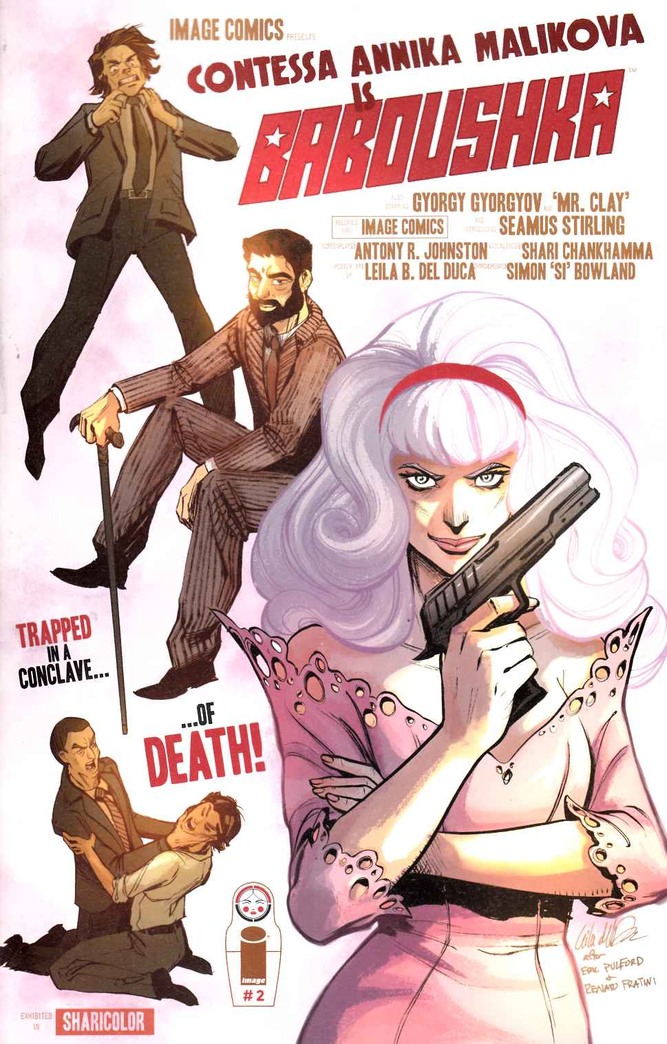Codename Baboushka: Conclave of Death #2 Cover B- Del Duca [Image Comic] THUMBNAIL