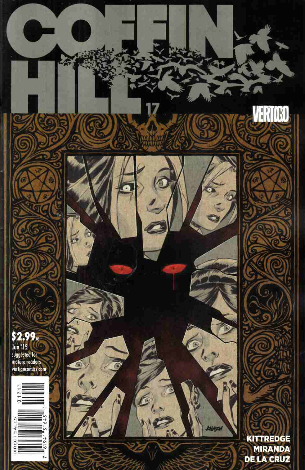 Coffin Hill #17 [DC Comic] THUMBNAIL