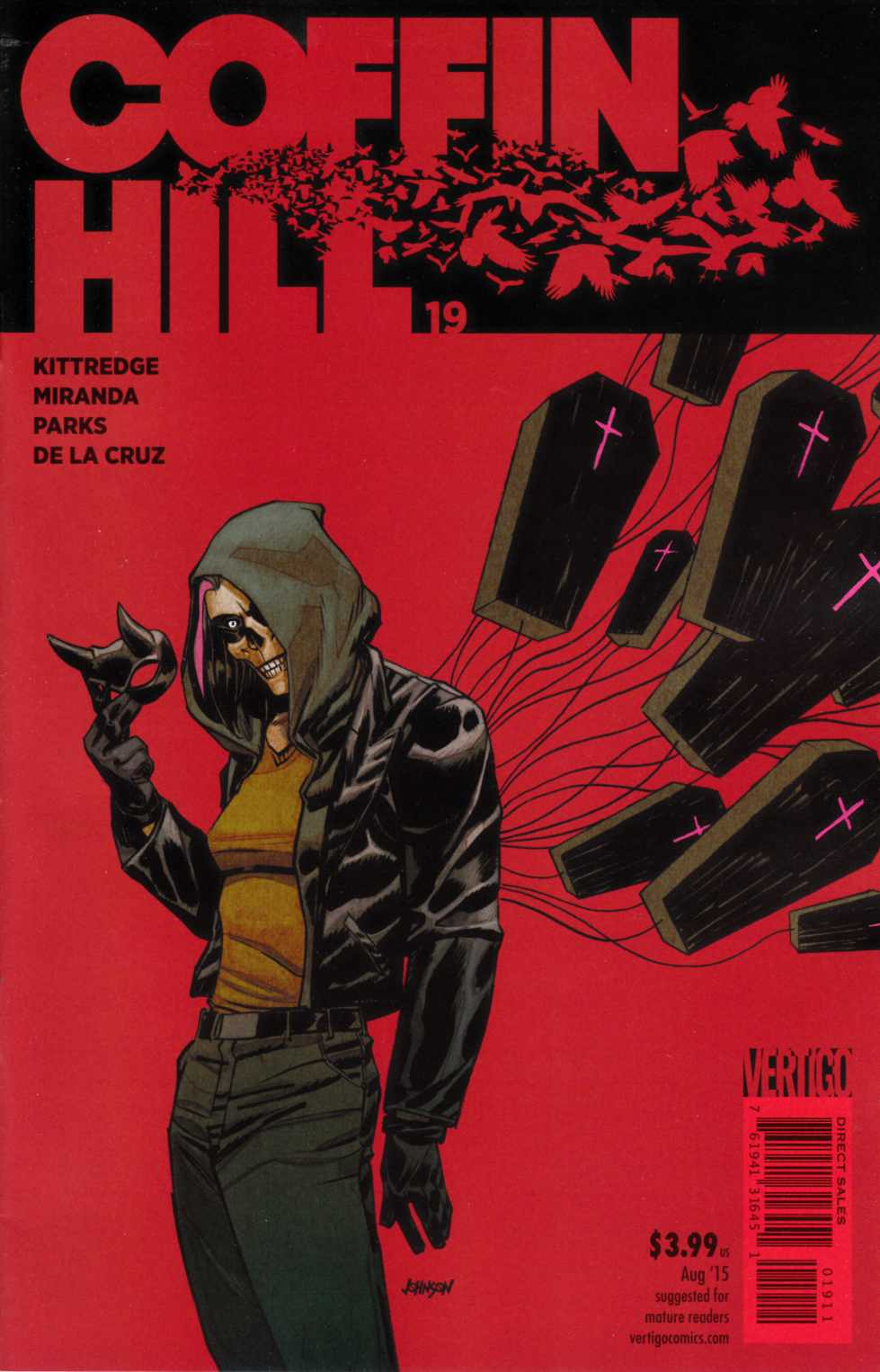 Coffin Hill #19 [DC Comic] THUMBNAIL
