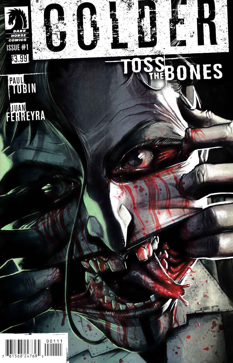 Colder Toss the Bones #1 [Dark Horse Comic] LARGE
