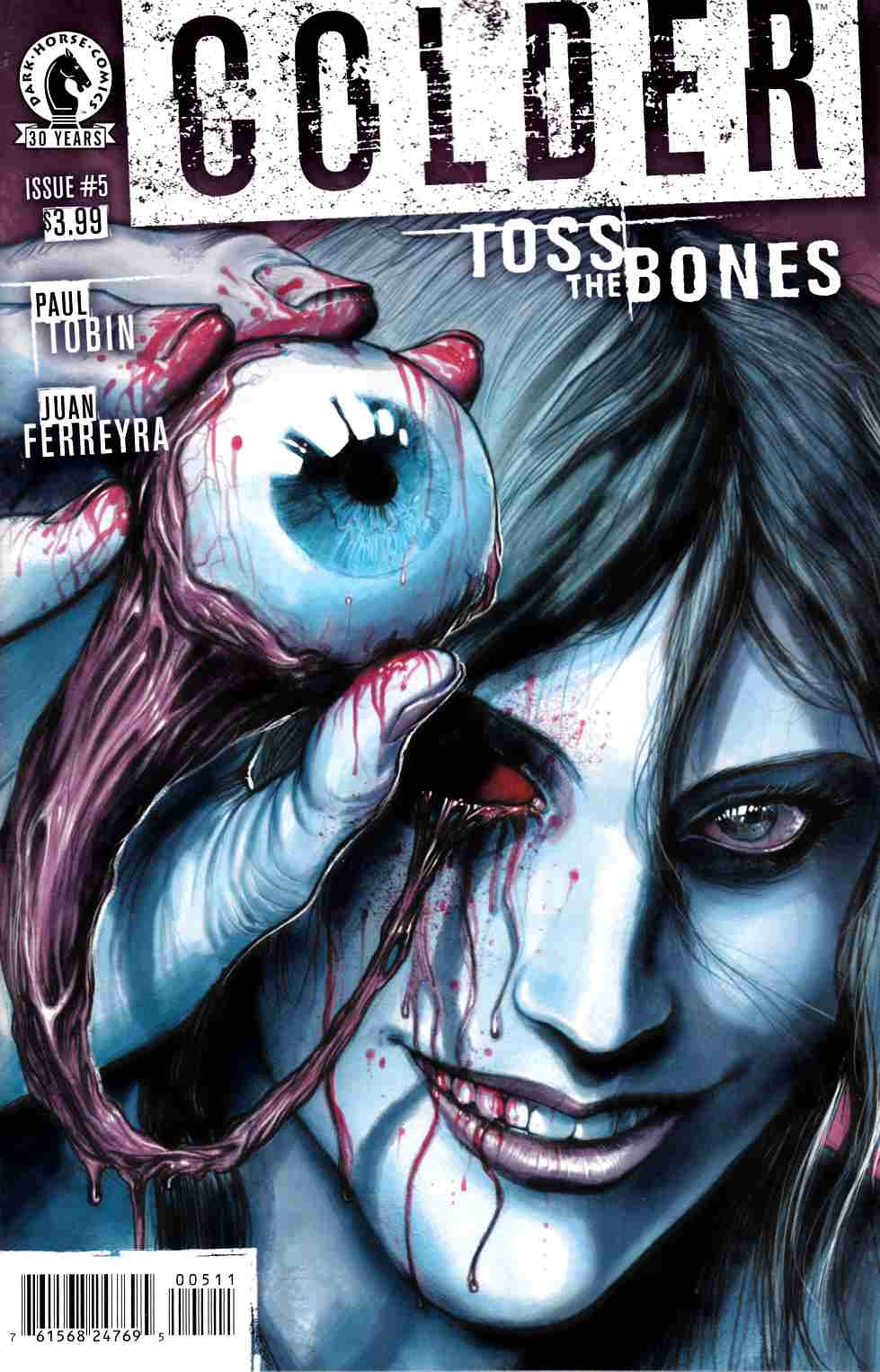 Colder Toss the Bones #5 [Dark Horse Comic] LARGE