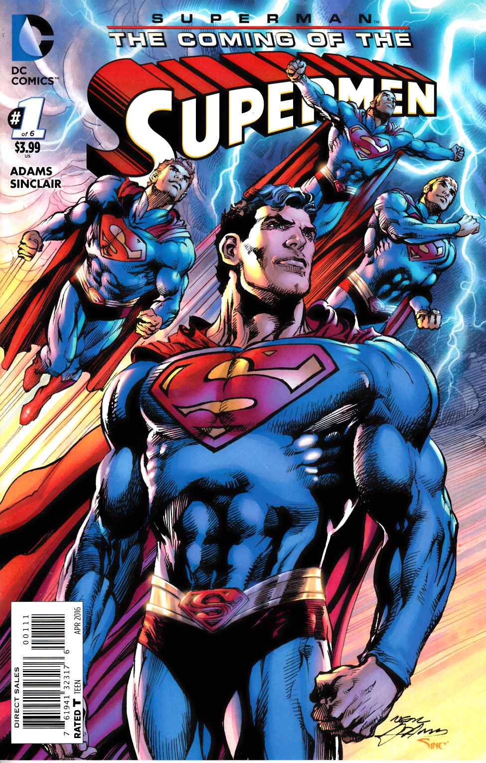 Superman the Coming of the Supermen #1 [DC Comic] LARGE
