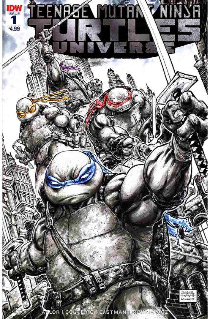 TMNT Universe #1 Second Printing [IDW Comic] THUMBNAIL