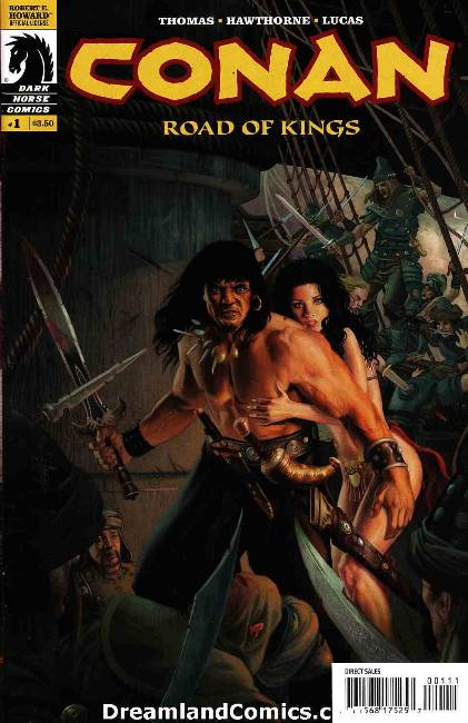Conan road of kings #1 (wheatley cover) LARGE