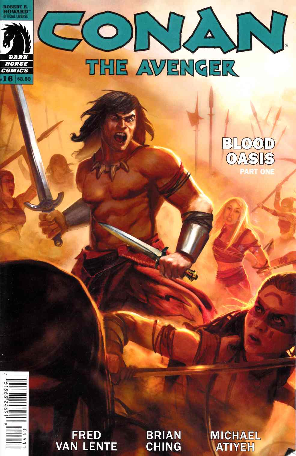 Conan the Avenger #16 [Dark Horse Comic] LARGE