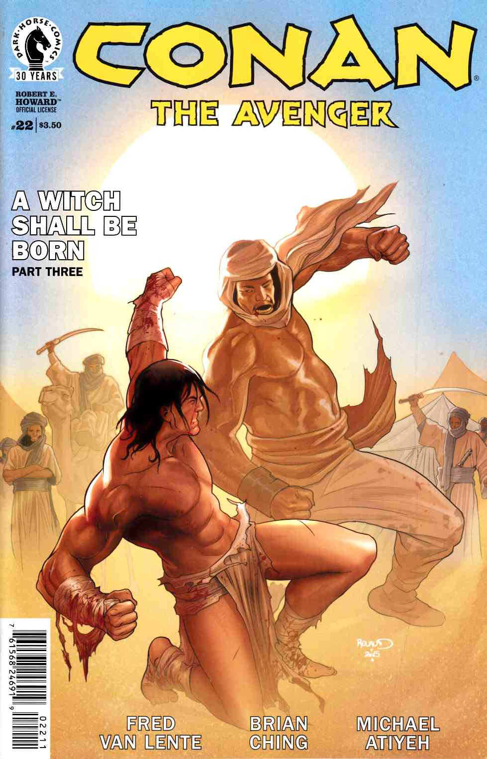 Conan the Avenger #22 [Dark Horse Comic] THUMBNAIL