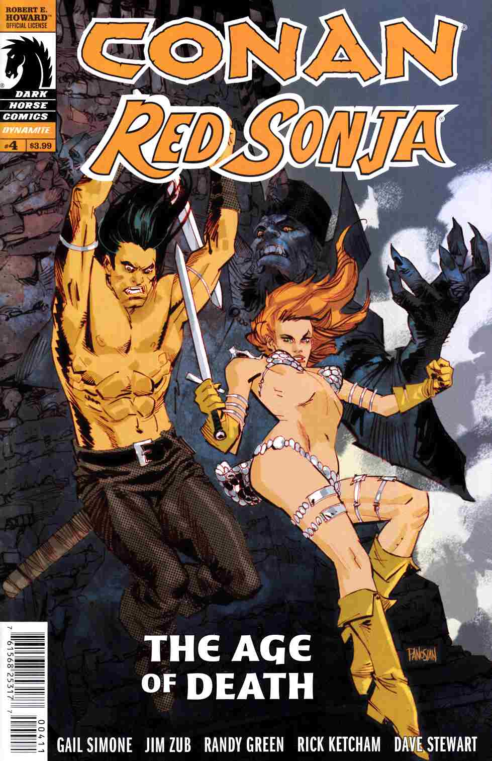 Conan Red Sonja #4 [Dark Horse Comic] THUMBNAIL