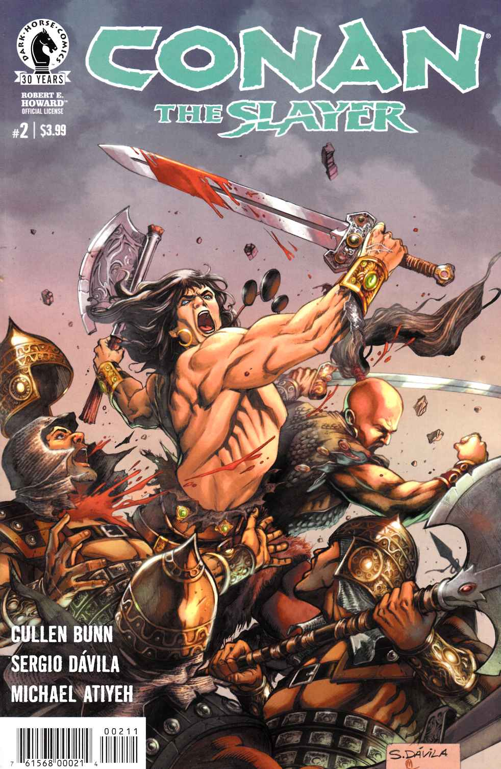 Conan the Slayer #2 [Dark Horse Comic] THUMBNAIL