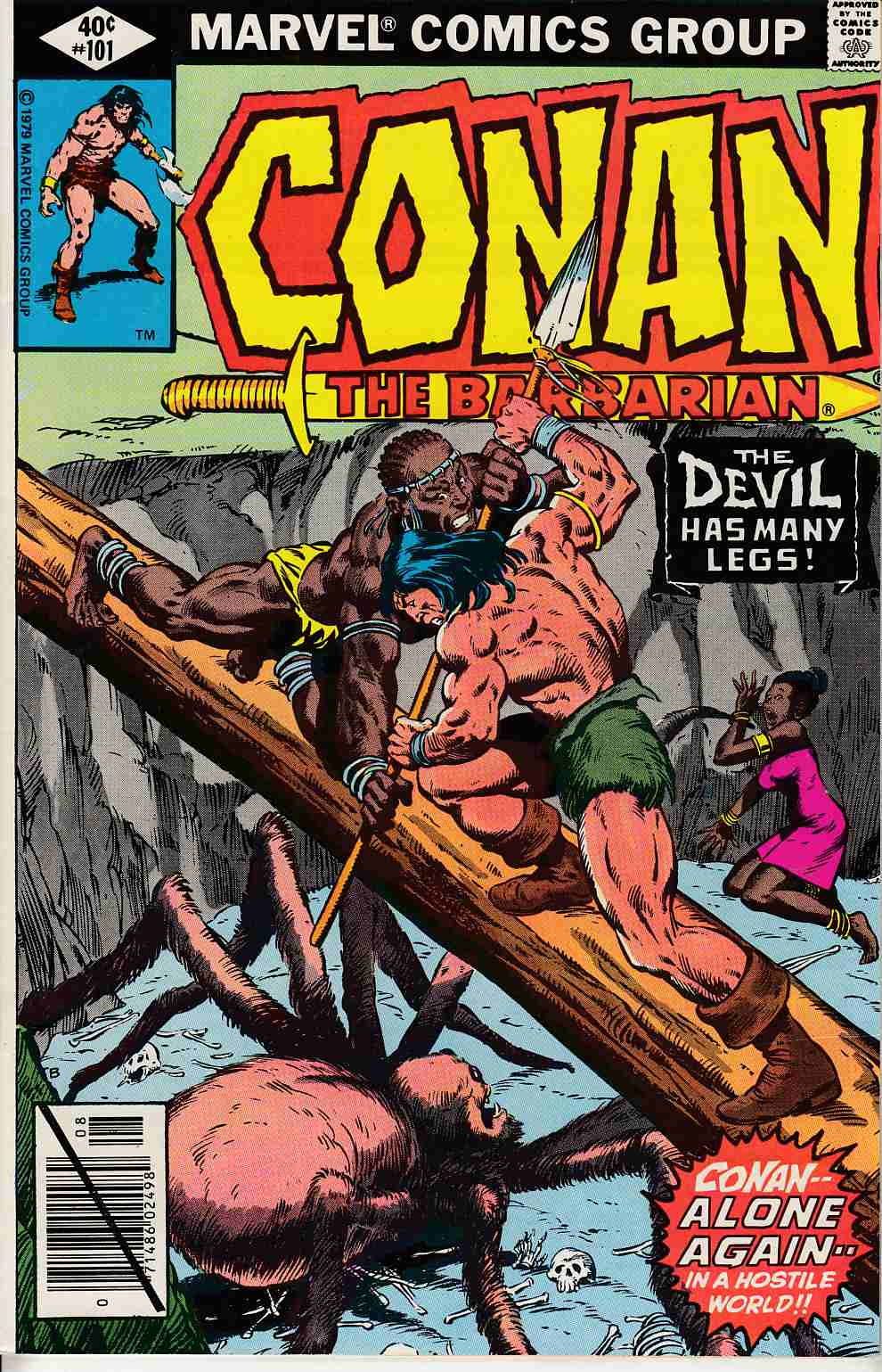 Conan the Barbarian #101 Very Fine (8.0) [Marvel Comic] LARGE