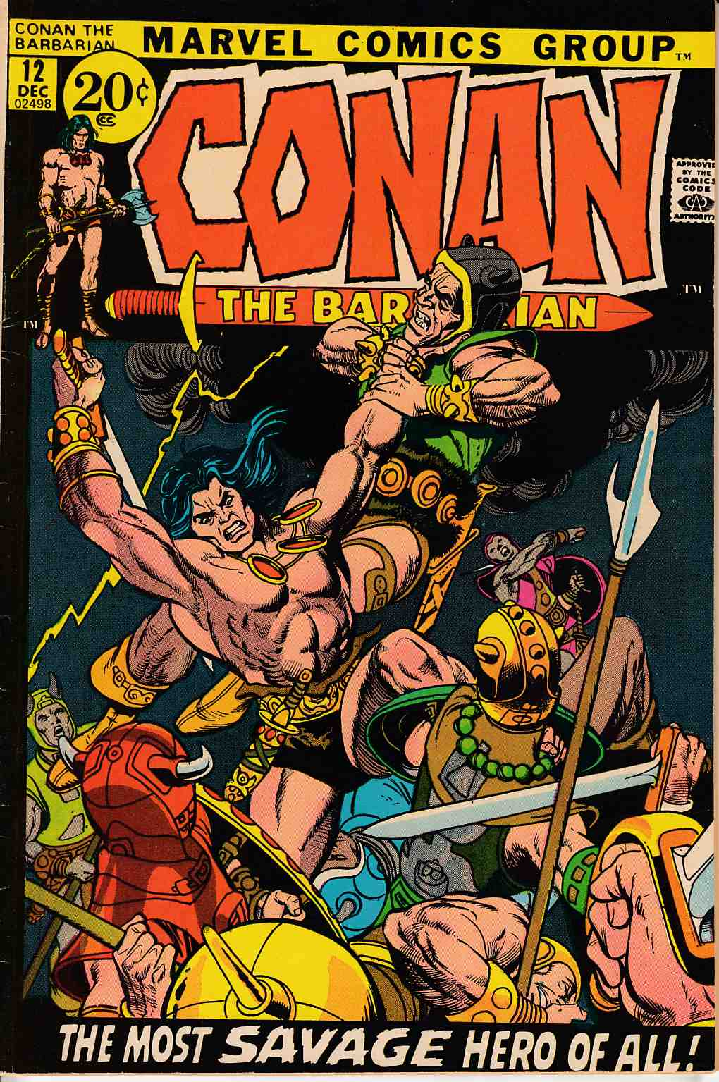 Conan the Barbarian #12 Good/Very Good (3.0) [Marvel Comic]