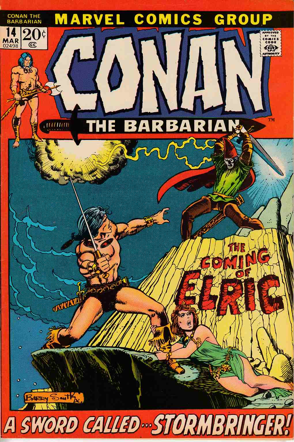 Conan the Barbarian #14 Very Fine (8.0) [Marvel Comic]_LARGE