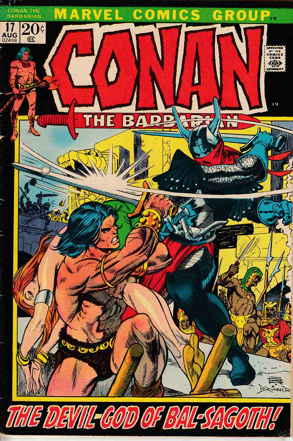 Conan the Barbarian #17 Very Good (4.0) [Marvel Comic]