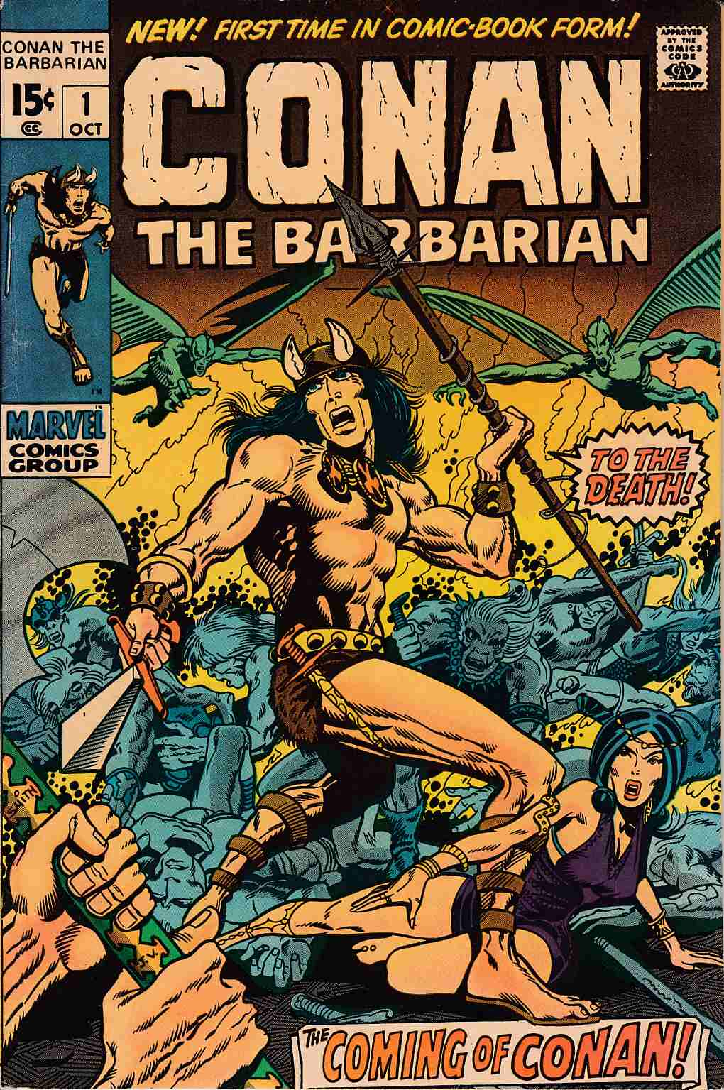 Conan the Barbarian #1 Very Fine Plus (8.5) [Marvel Comic]_THUMBNAIL