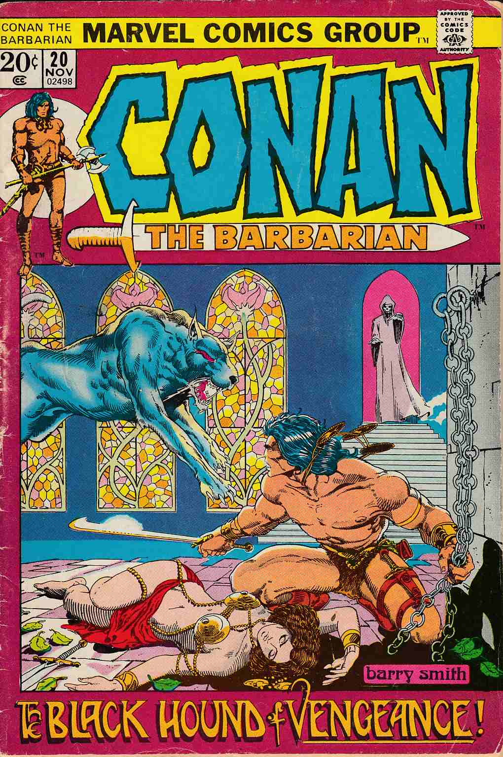 Conan the Barbarian #20 Good/Very Good (3.0) [Marvel Comic] LARGE