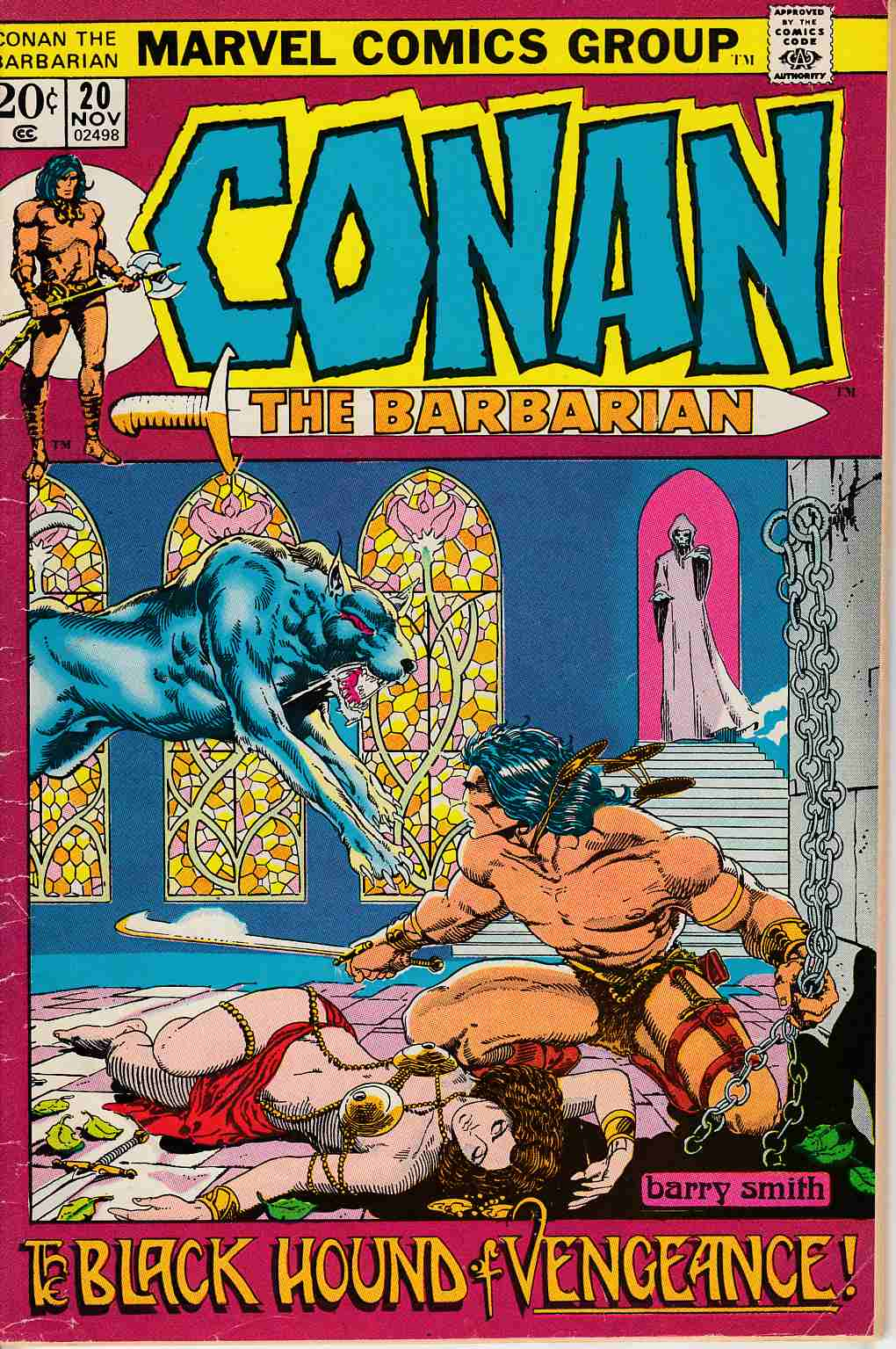 Conan the Barbarian #20 Very Good (4.0) [Marvel Comic] LARGE