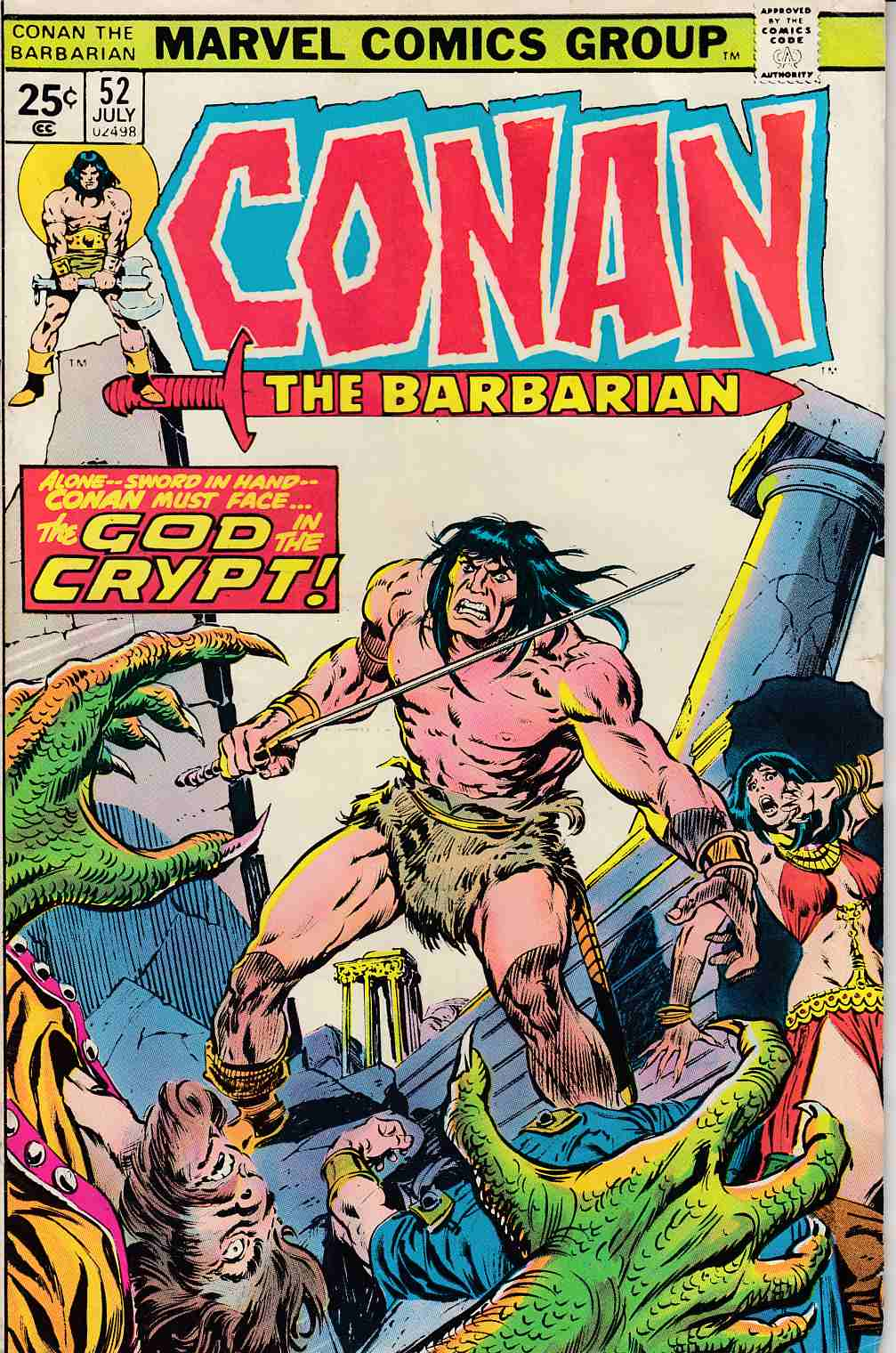 Conan the Barbarian #52 Very Good (4.0) [Marvel Comic] LARGE