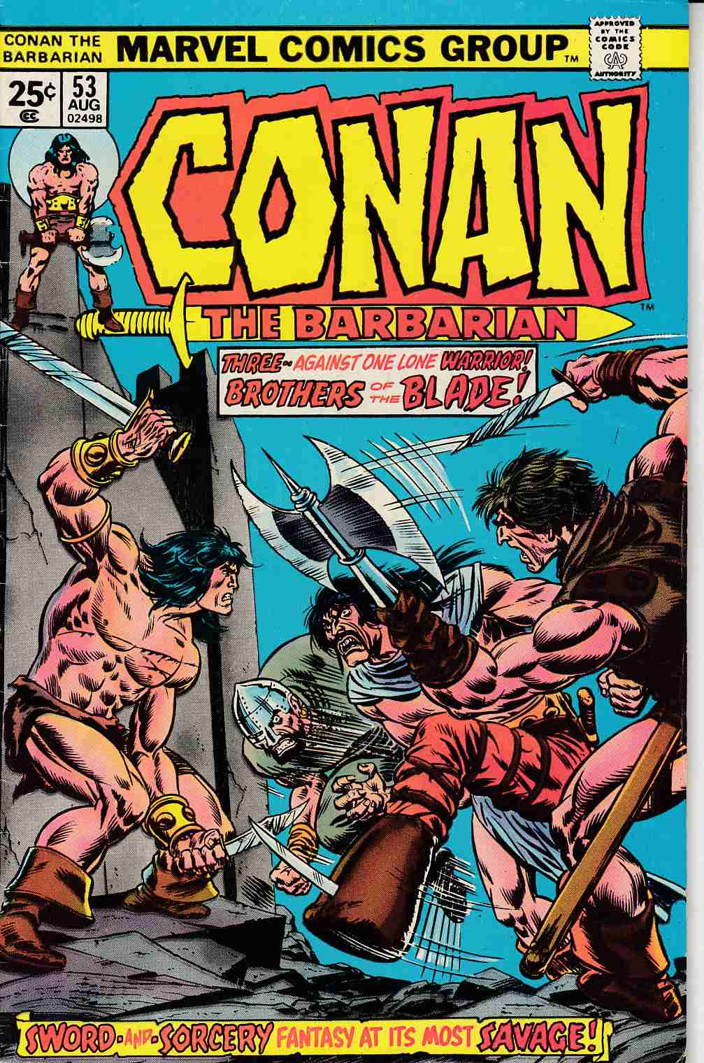 Conan the Barbarian #53 Very Fine Plus (8.5) [Marvel Comic] LARGE