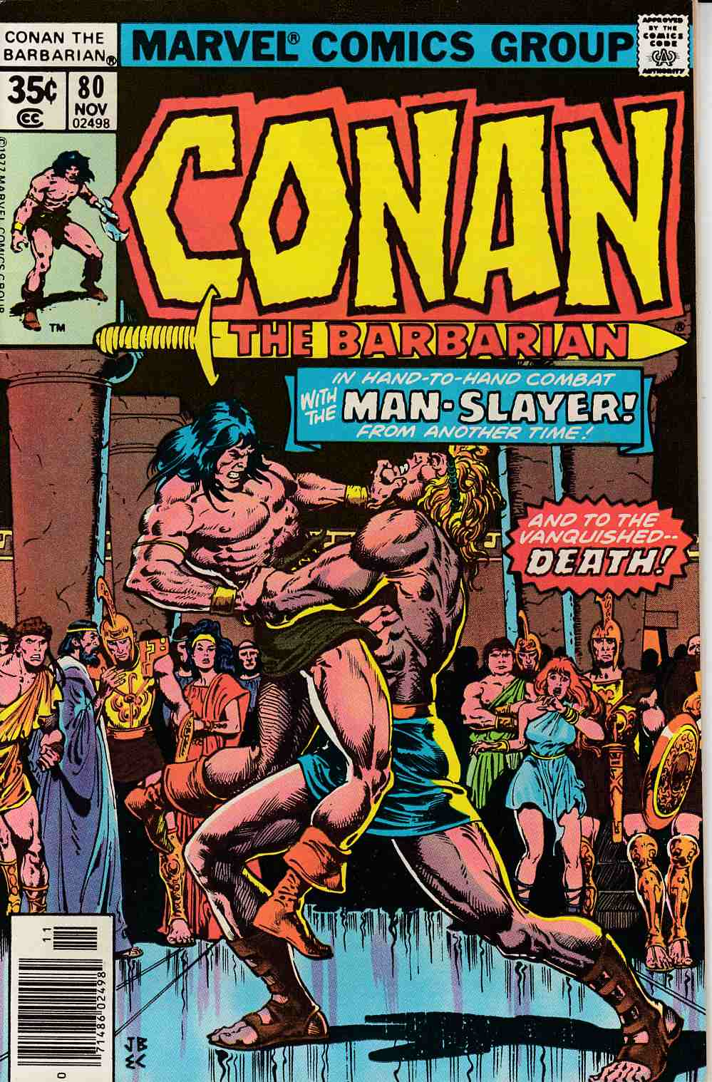 Conan the Barbarian #80 Very Fine (8.0) [Marvel Comic] LARGE